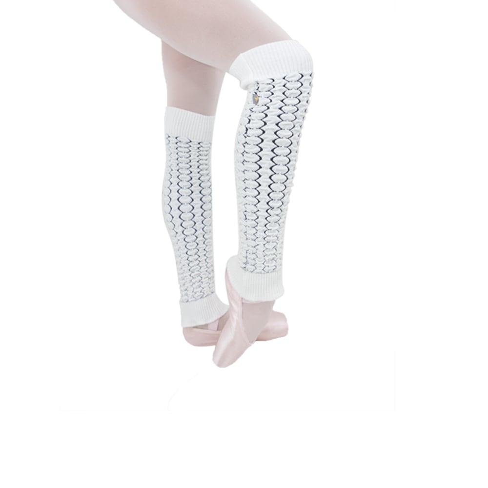Polaina Enrugada Branca - Ballare-0