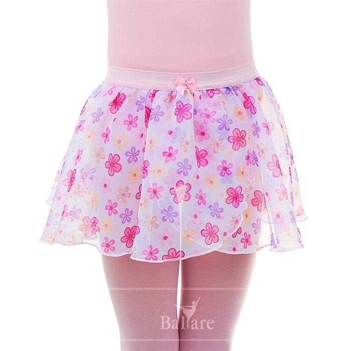Saia Floral Infantil - Ballare-0