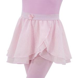 Saia Crepe Camadas Infantil- Ballare-0