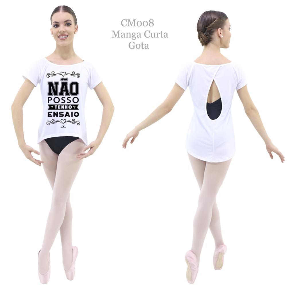 Camiseta Printed Estampa 8 - Ballare-1563