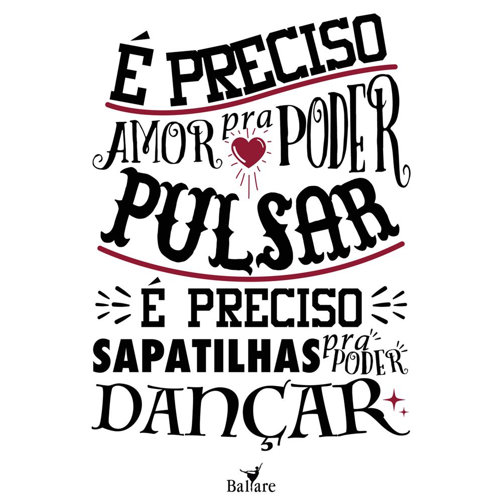 Camiseta Frase De Dança