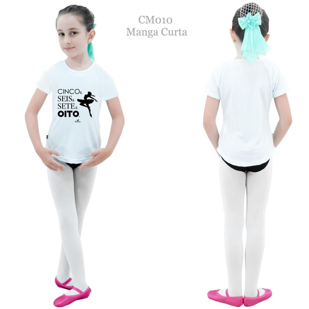 Camiseta Printed Estampa 9 Infantil - Ballare-2036