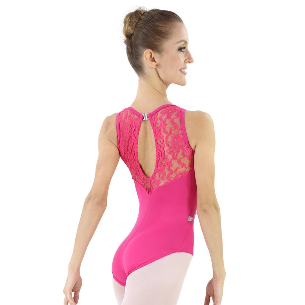 d2d63be5dd Collant Suplex Renda Noble Costas Gota Pink-2089