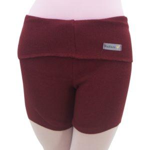 Shorts com Dobra Bordô - Ballare-0