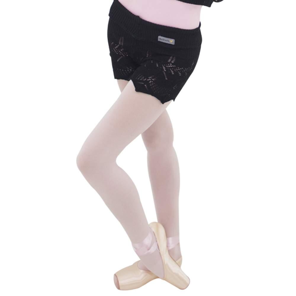 Shorts com Dobra Entarce Preto - Ballare -0