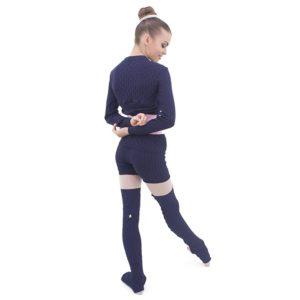 Shorts Trancinha Azul Marinho - Ballare-1908