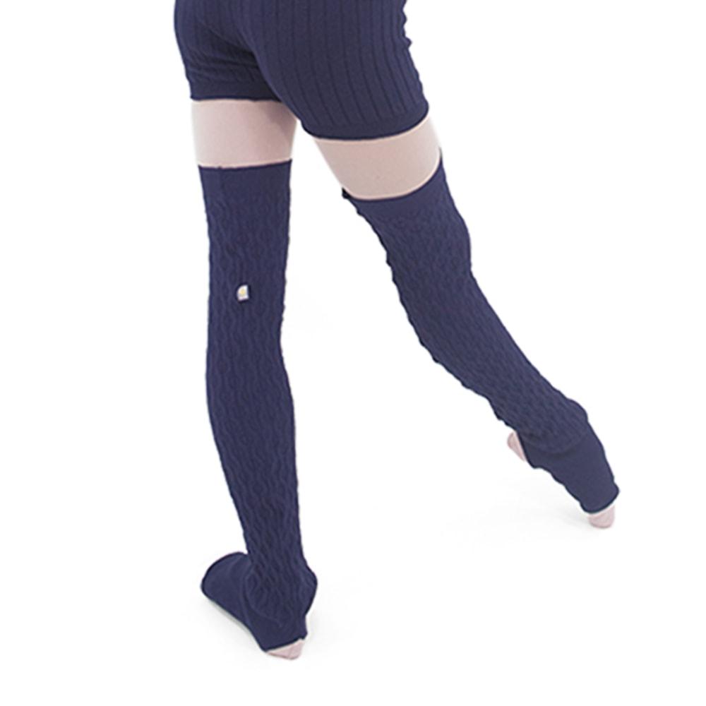 Perneira Trancinha Azul Marinho - Ballare-0