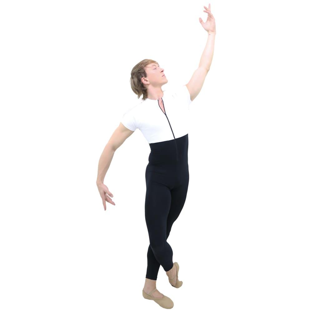 Macacão com Zíper Masculino Branco Adulto - Ballare-0