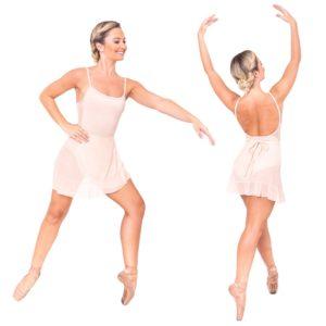 Saia Clássica Dance Code Bege - Ballare-0