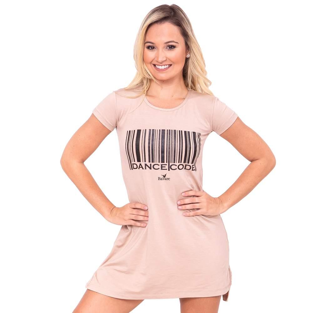 Vestido Dance Code Adulto Bege - Ballare-2743