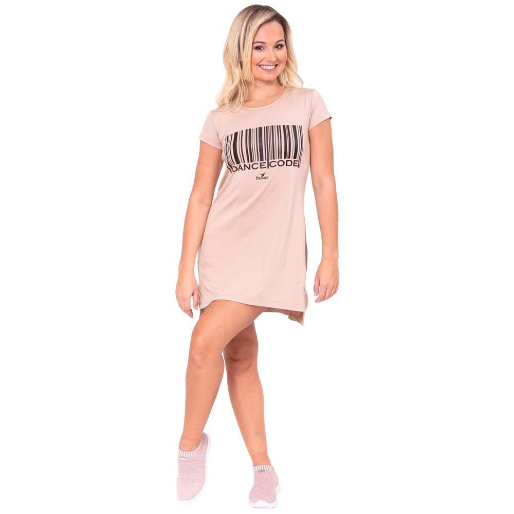 Vestido Dance Code Adulto Bege - Ballare-2744