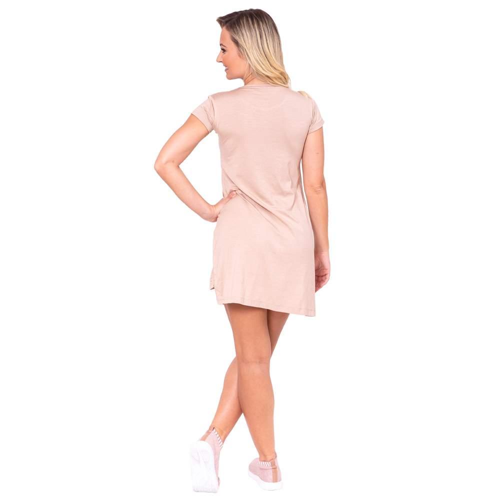 Vestido Dance Code Adulto Bege - Ballare-2745