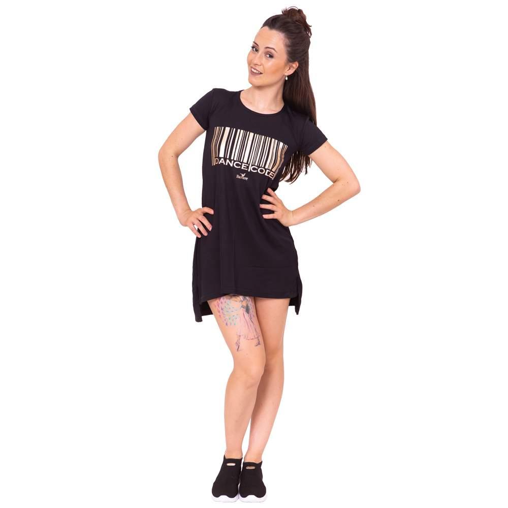 Vestido Dance Code Adulto Preto - Ballare-2739
