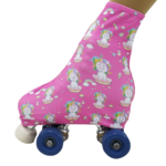 Polaina Patinação Unicórnio Pink - Ballare-0